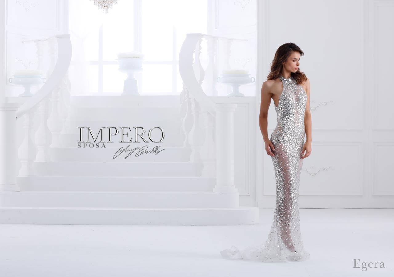 Abito da sposa egera Impero couture